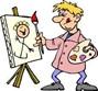 Schilder-en tekenles